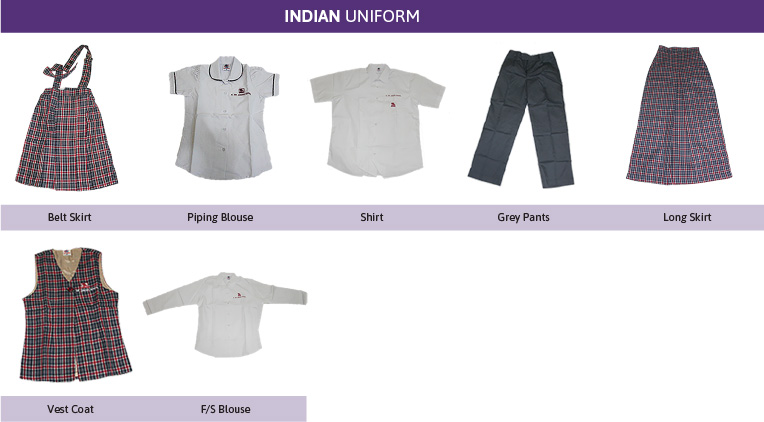 Indian School Uniform