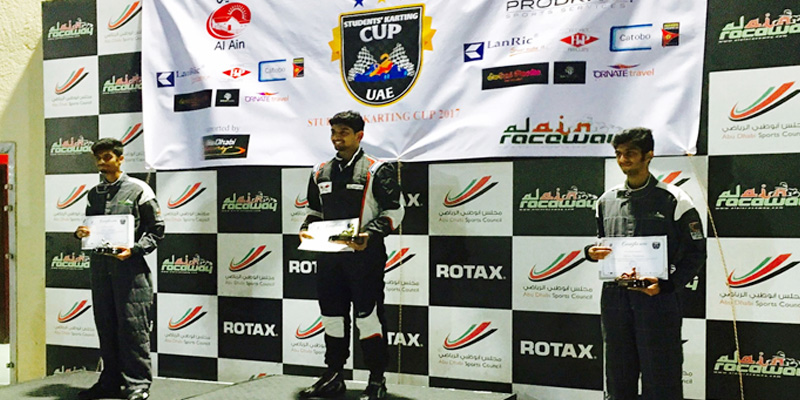 students karting cup UAE national championship 800 x 400 dimensions
